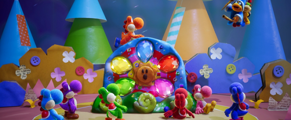 Yoshi's Crafted World <span id=